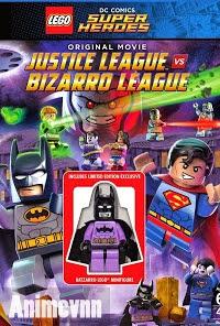 Lego Liên Minh Công Lý Vs Liên Minh Bizarro - Lego Dc Comics Super Heroes: Justice League Vs. Bizarro League 2015 Poster