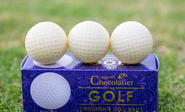 Guests With White Chocolate Golf Balls