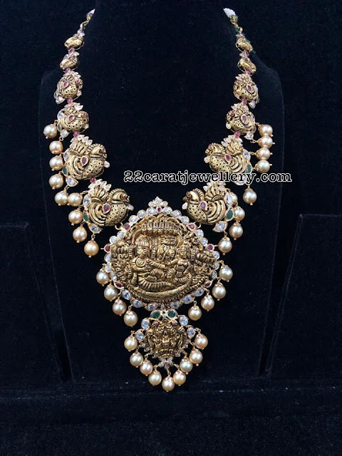 Traditional Nakshi Long Chains by Premraj Jewellers