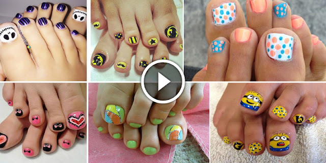 Checkout Top 60 Toe Nail Art Designs —That You Never Seen Before!