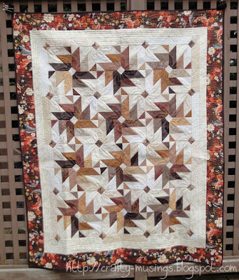 Fall 2013 Mystery Quilt, front view