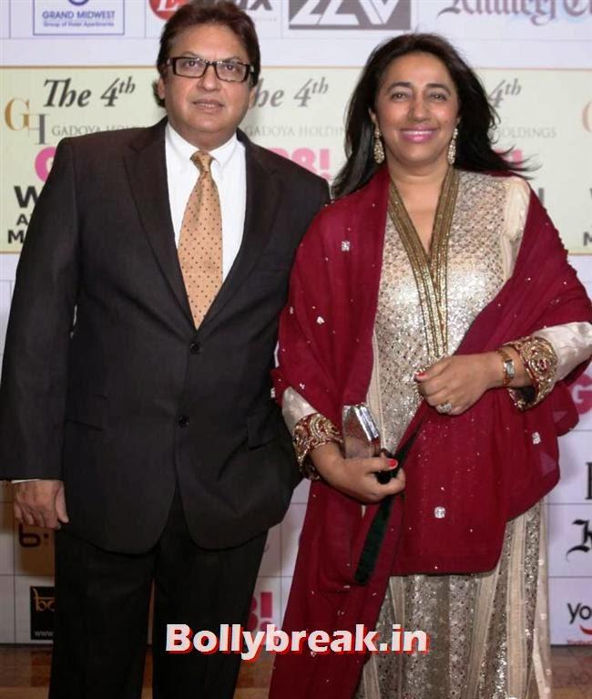 Shashi Ranjan and Anu Ranjan, Shriya, Kangna, Barkha at 4th GR8 Women Awards 2014