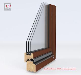 Деревянные окна из Германии UNILUX