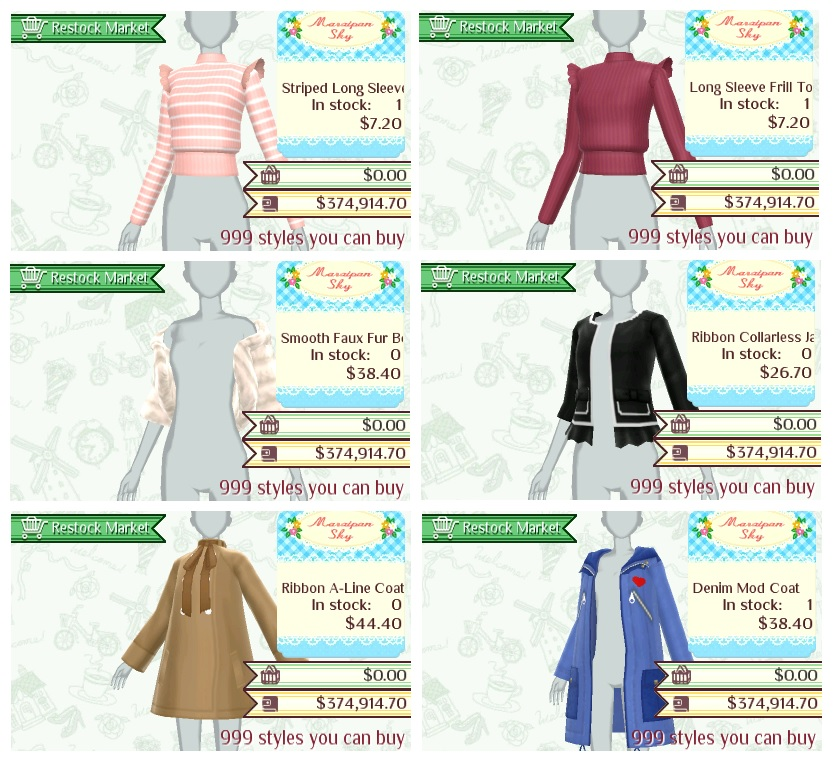 New Style Boutique 3 Styling Star Guide Brands Marzipan Sky