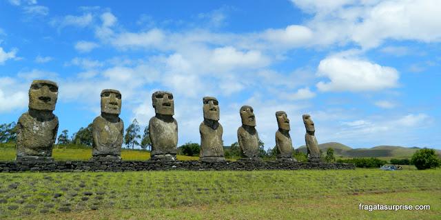 Ahu Los Siete, Ilha de Páscoa