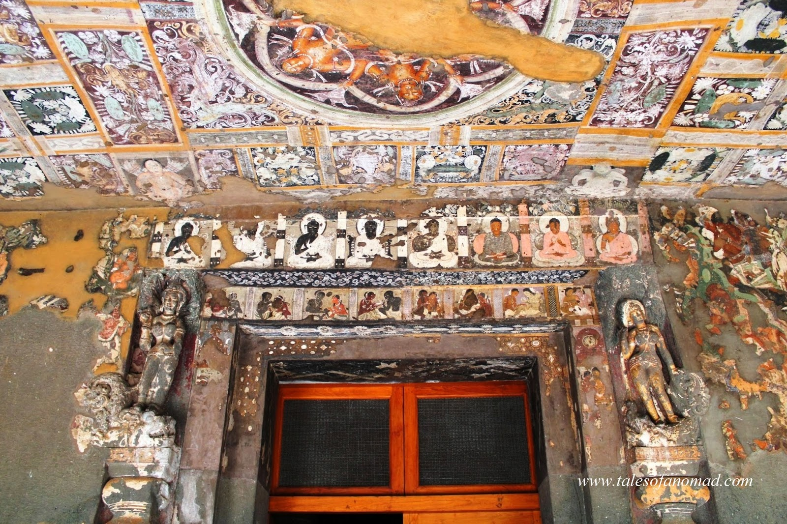 Tales Of A Nomad Ajanta Caves Paintings And Sculptures