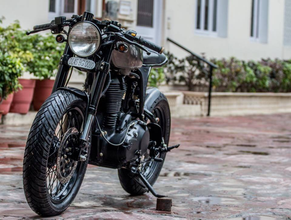 Royal Enfield Café Racer by Rajputana