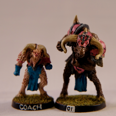 Coach model and Minotaur