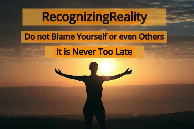 do not blame yourself or even others some time it is a good sign to feel regret but it is never too late to change your life