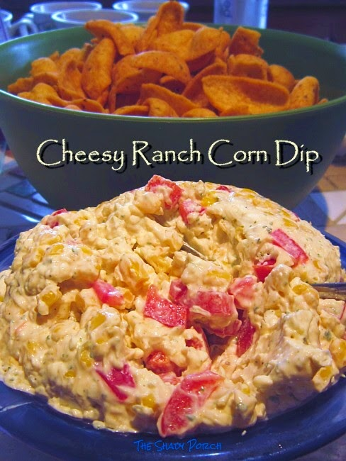 Cheesy  Ranch  Corn Dip