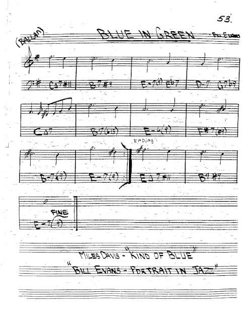 Partitura Trompeta Bill Evans