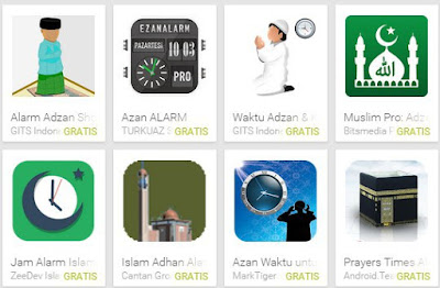 Aplikasi Adzan Android Terbaik