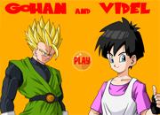 DBZ Gohan and Videl