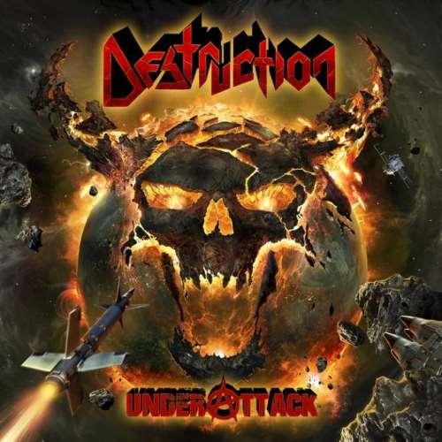"DESTRUCTION: Το εξώφυλλο του επερχόμενου ""Under Attack"""