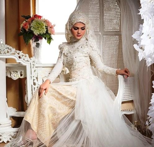 model kebaya pengantin untuk akad nikah