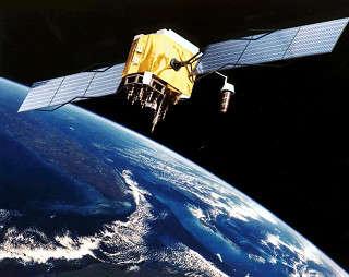 Satelite en órbita