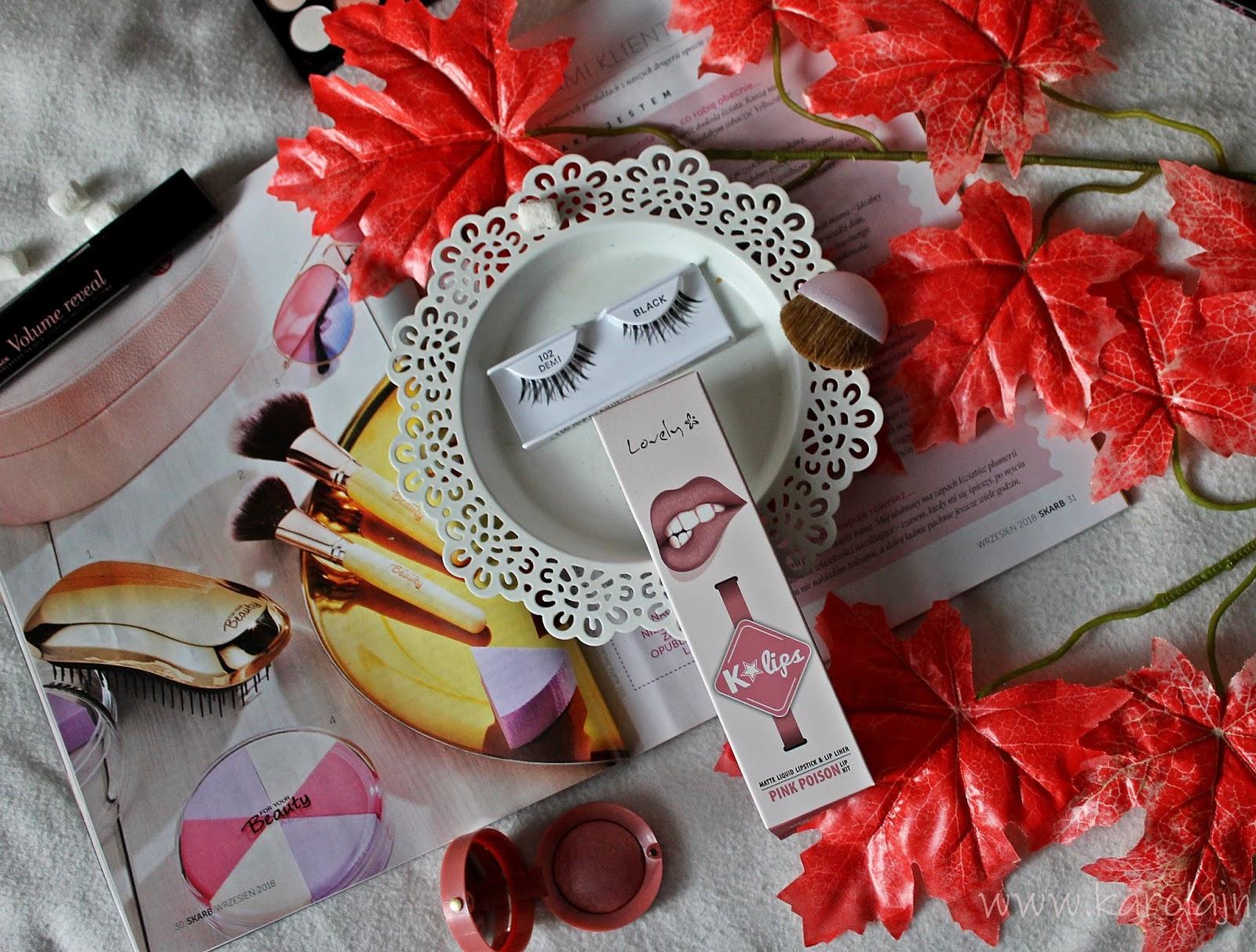 Kosmetyczne nowości października - Moje zamówienie z EZEBRA