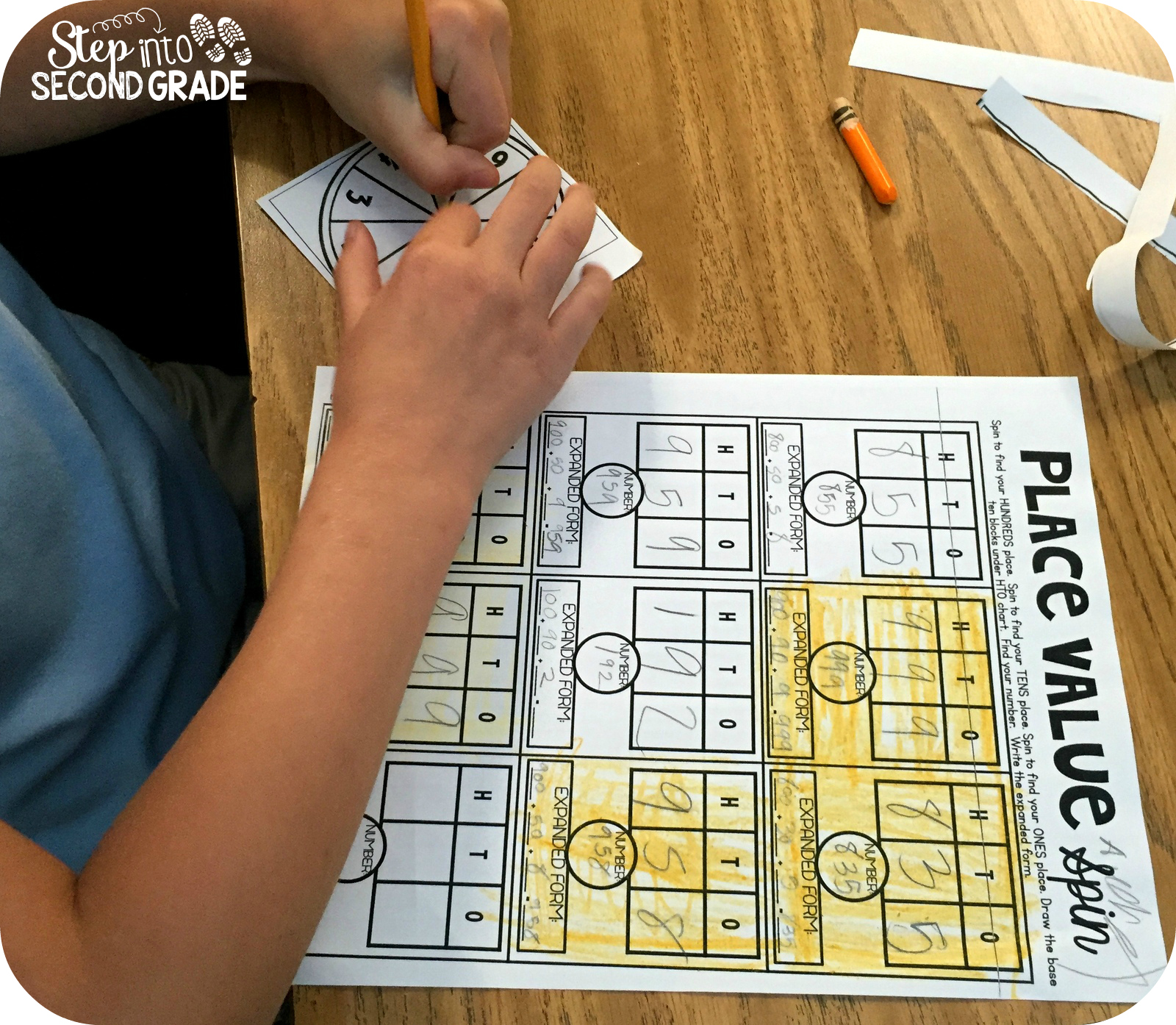 Place value review step into 2nd grade with mrs lemons bloglovin geenschuldenfo Image collections