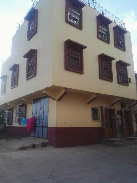 منزل R+3 ثلاث واجهات للبيع بمدينة الحاجب