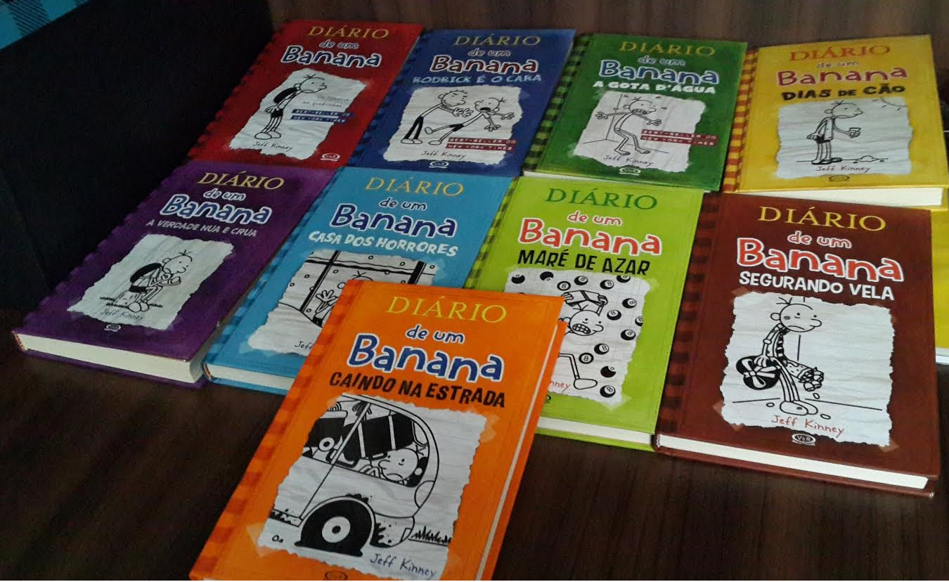 203e991da8 Indicação especial  livro infantil - Diário de um Banana - Três Leitoras
