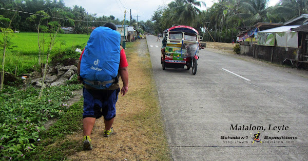 Walking through Matalom Leyte - Schadow1 Expeditions