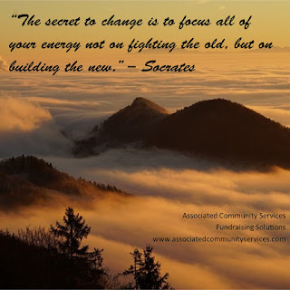 The secret to change quote