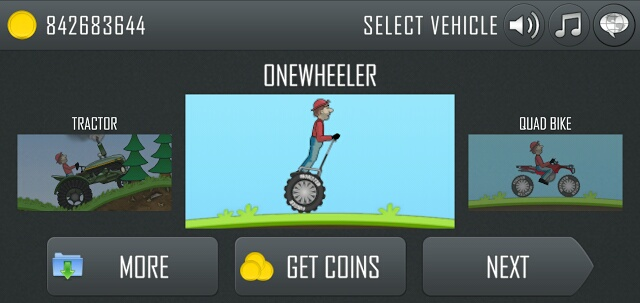 hill climb racing free coins ios