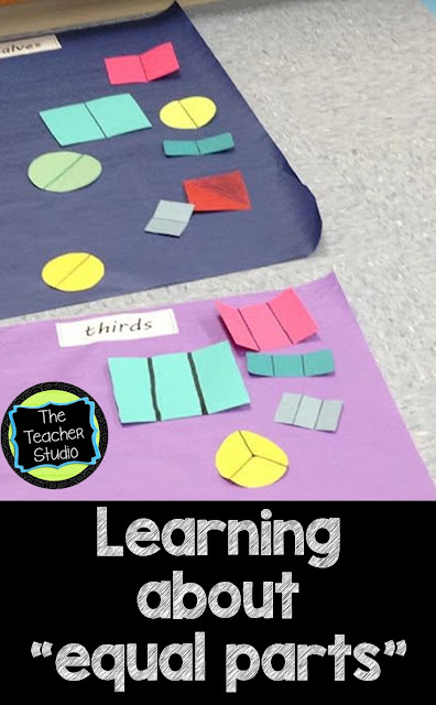 hands on fraction activities