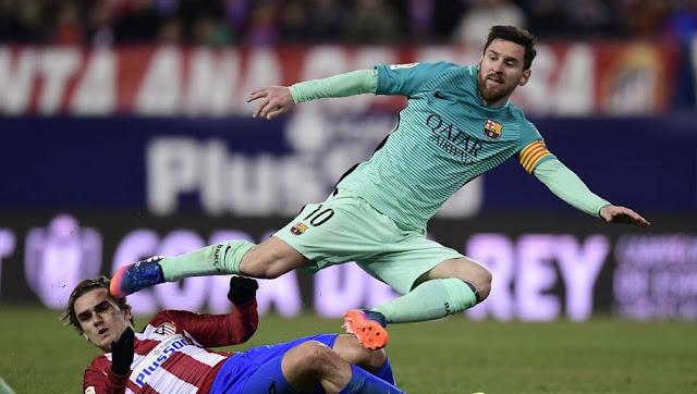 Griezmann Messi Barça