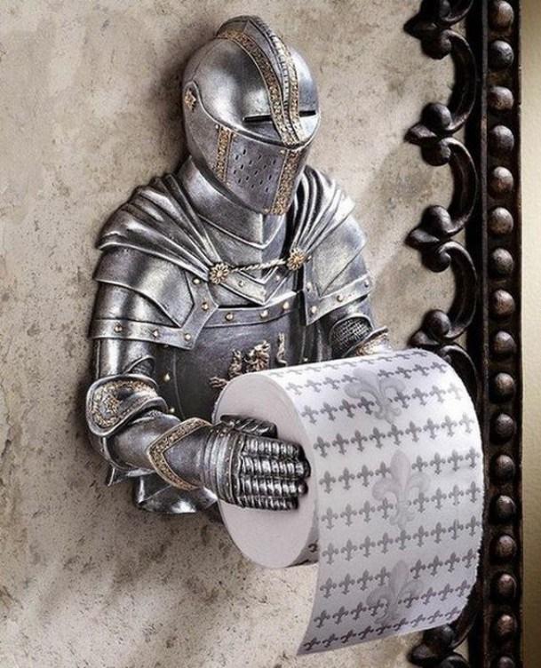 imagens, items, criatividade, design, arte criativa, design criativos, 24 items que faltam na sua casa, items que faltam para a sua casa ficar mais divertida, papel higienico medieval, eu adoro morar na internet