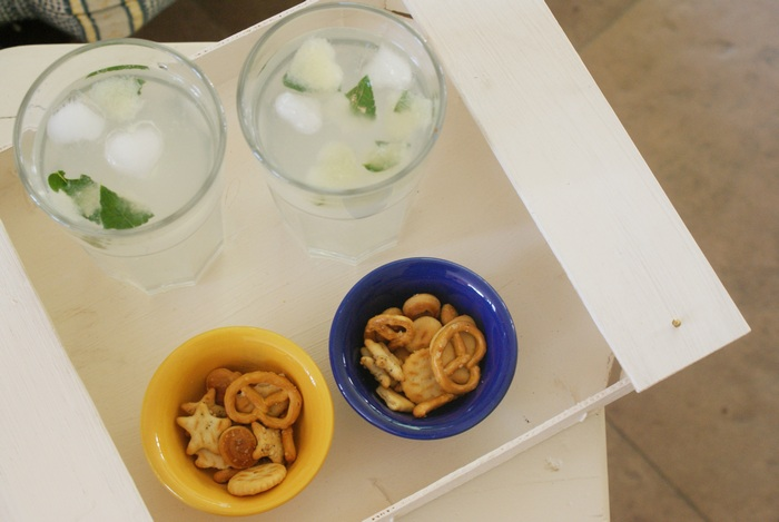 lemon mint ice water recipe