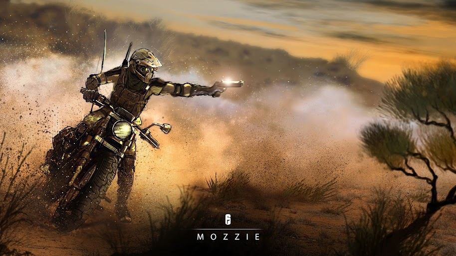 Mozzie Rainbow Six Siege 4k Wallpaper 25