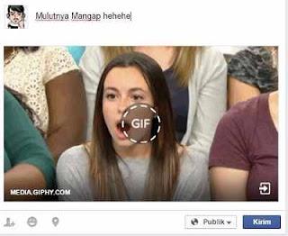 Cara Upload & Posting Gambar Bergerak (GIF) di Facebook