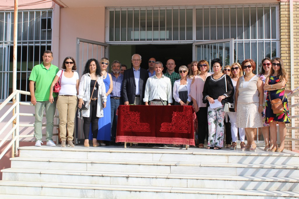Ο Δημάρχος Λαρισαίων έδωσε το παρόν σε τελετές αγιασμών σχολείων της Λάρισας