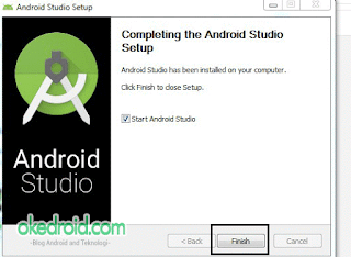 Completing the Android Studio Setup