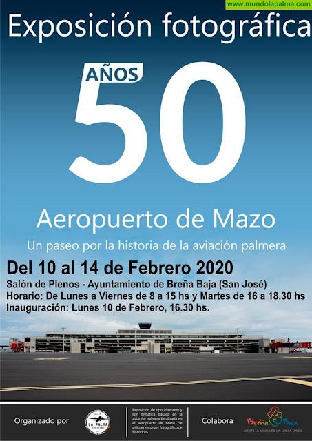 """BREÑA BAJA: Expo """"50 años del Aeropuerto de Mazo"""""""