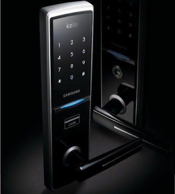Mua khóa cửa điện tử Samsung ở đâu ?