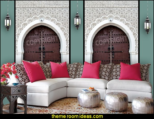 Moroccan decorating ideas - Moroccan decor - Moroccan furniture - decorating Moroccan style