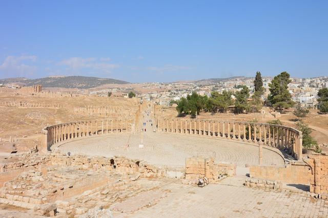 Forum Romain de Jérash