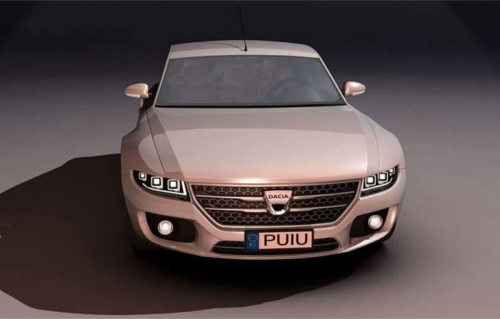 Dacia Logan Lux - un concept virtual
