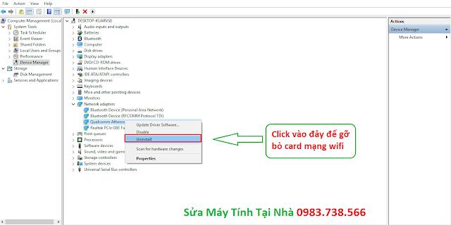 Sửa lỗi Limited access khi bắt wifi - H09