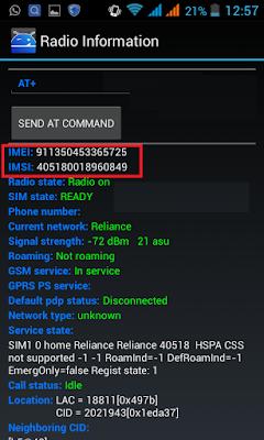 Làm thế nào khi điện thoại mất IMEI không thể kết nối dịch vụ internet 3G