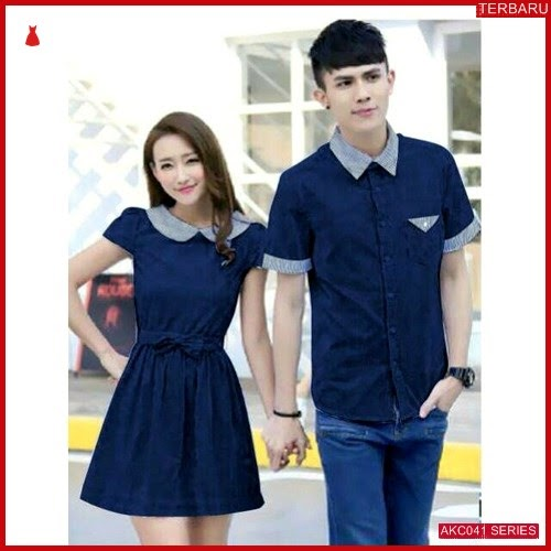 AKC041D34 Dress Couple Couple Anak 041D34 Dress Kemeja BMGShop