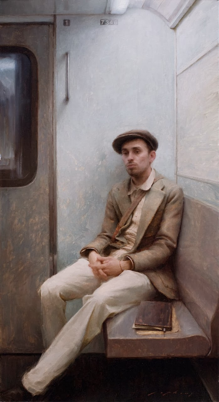 Jeremy Lipking painting of the artist Joseph Todorovitch