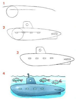Cómo dibujar un buque