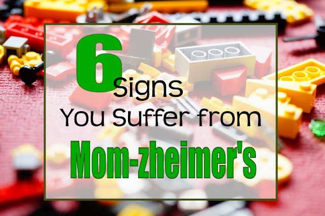 "6 Signs You Suffer from Mom-zheimer's -- Have you ever done something with your kids thinking ""This is going to be fun"" and ended up saying ""What was I THINKING?!"" Then you probably have Mom-zheimer's.  {posted @ Unremarkable Files}"