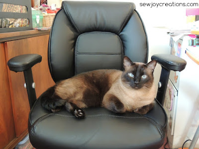 lambert in my chair