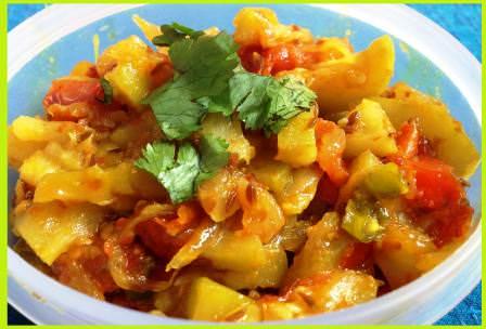 दूधी की सूखी सब्जी कैसे बनायें - How to Make Sookhi Lauki Sabji
