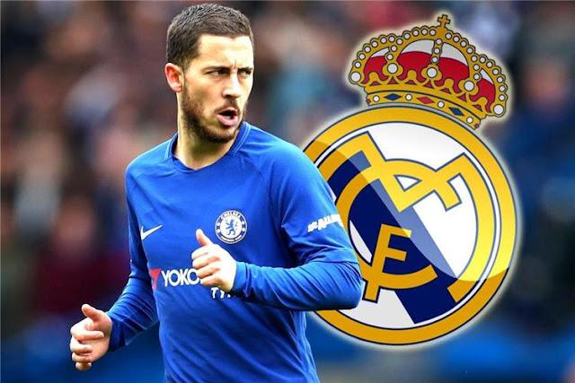 الخبر الذى ينتظره عشاق ريال مدريد ... هازارد يرتدى قميص الملكى