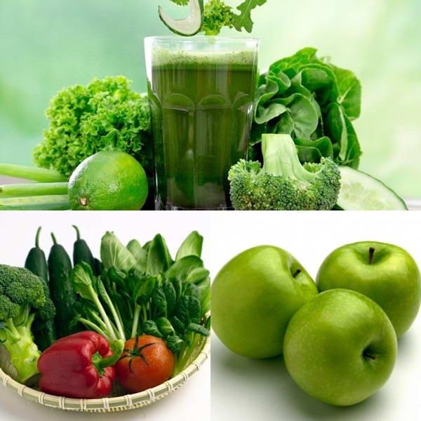 Giảm 2,5 kg trong 5 ngày với nước ép rau, củ, quả